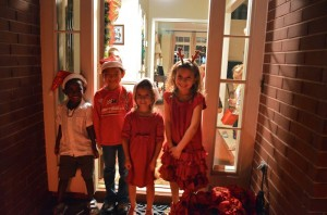Christmas Caroling - Random Acts of Kindness - Kid World Citizen on Alldonemonkey.com