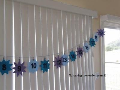 Star Advent Calendar - Nurturing the Tender Years - Ayyam-i-Ha Gift Guide 2013 on Alldonemonkey.com