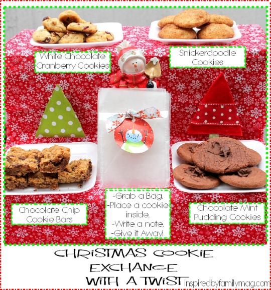 Christmas Cookie Exchange - Inspired by Family Magazine - Ayyam-i-Ha Gift Guide 2013 on Alldonemonkey.com