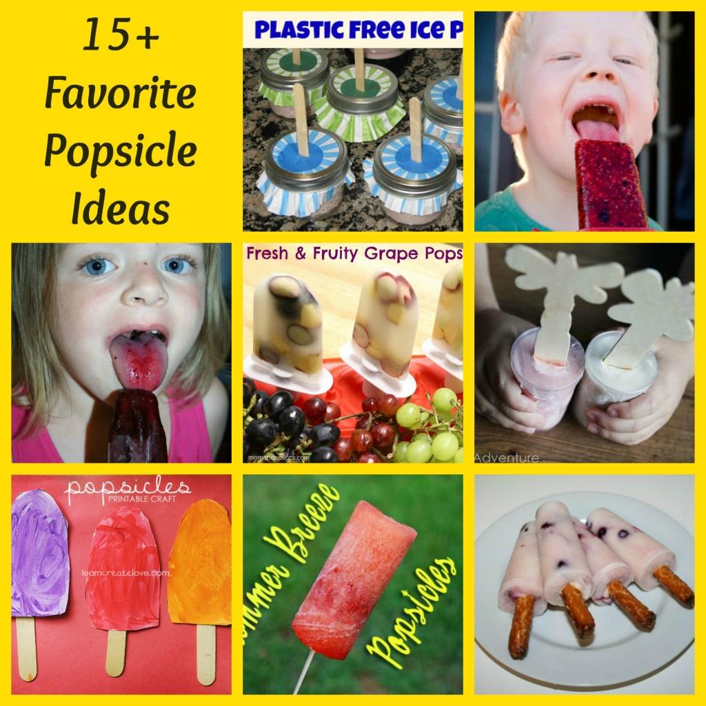 15+ Favorite Popsicle Ideas - Alldonemonkey.com