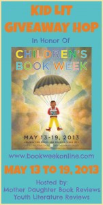 Kid Lit Giveaway Hop - Button - May 2013