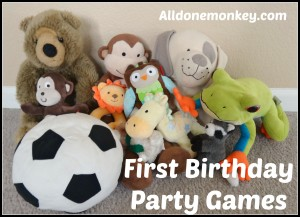 First Birthday Party Games - Alldonemonkey.com - Multicultural Kid Blogs Virtual Birthday Party and Giveaway!