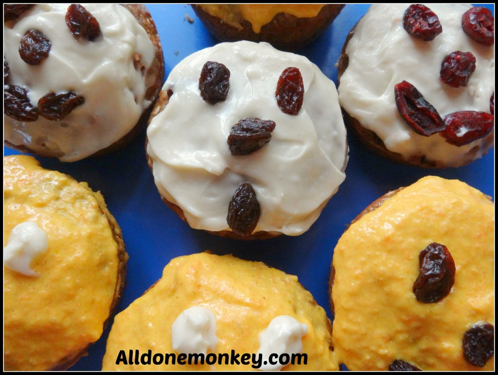 Healthy Halloween Cupcakes: Make Your Own Natural Orange Food Dye - Alldonemonkey.com