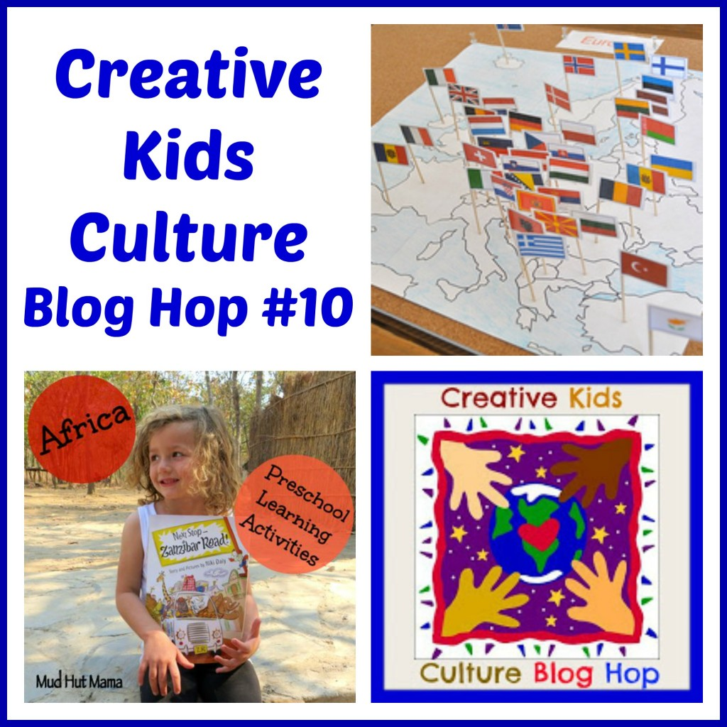 Creative Kids Culture Blog Hop #10 - Alldonemonkey.com