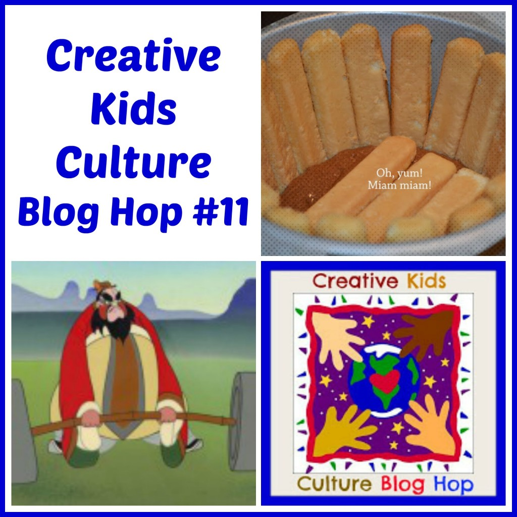 Creative Kids Culture Blog Hop #11 - Alldonemonkey.com