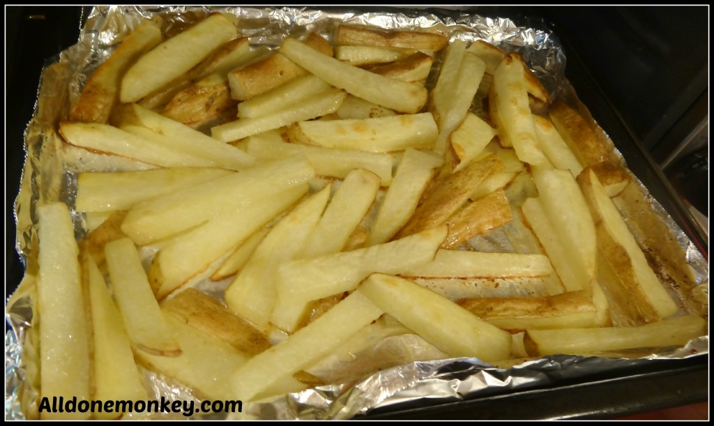 Healthy Homemade French Fries - Alldonemonkey.com