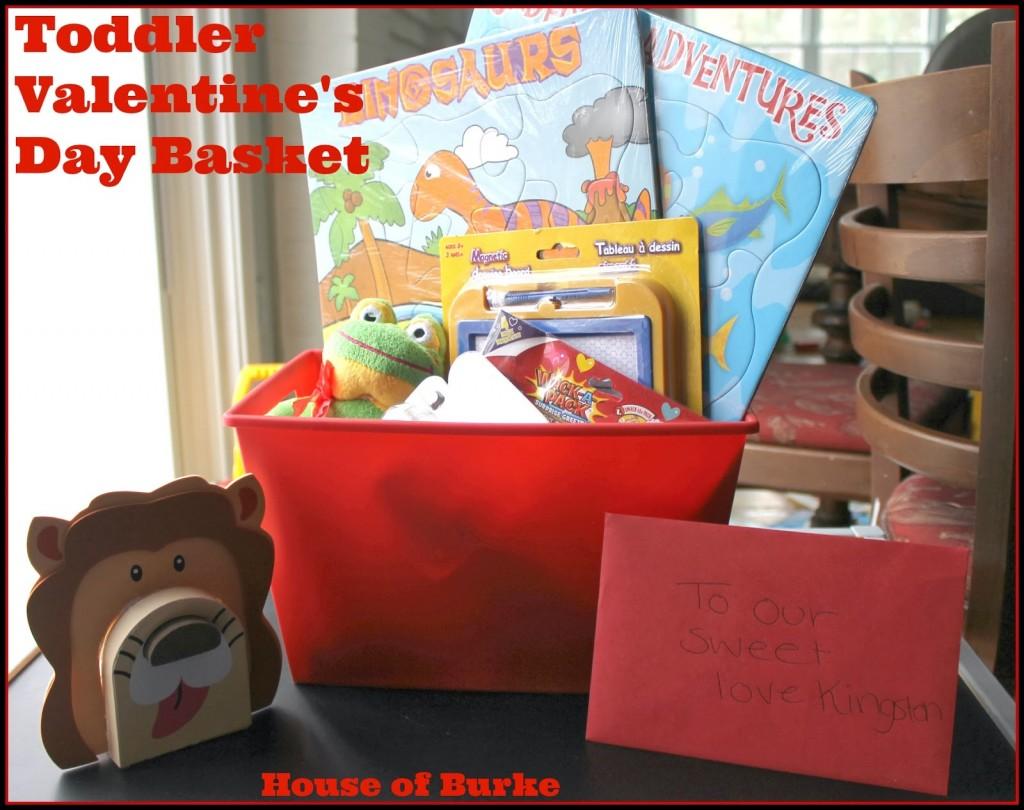 House of Burke - Toddler Valentine's Day Basket