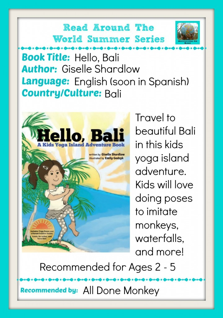 Learn about Bali with a New Kids Yoga Stories Adventure Book - Alldonemonkey.com