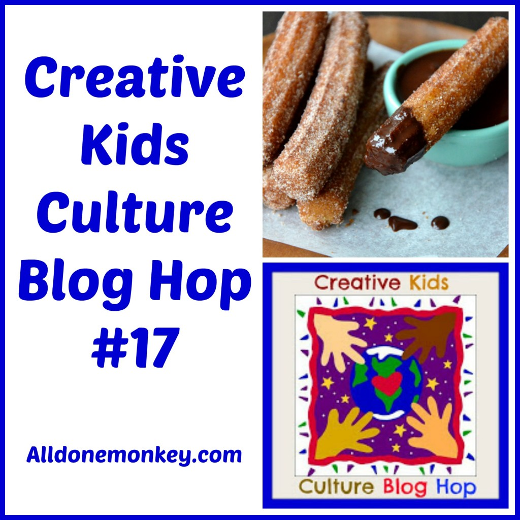 Creative Kids Culture Blog Hop #17 - Alldonemonkey.com