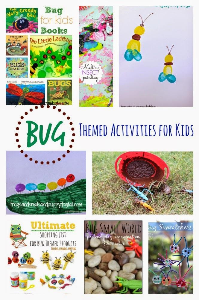 Bug Themed Activities for Kids - FSPDT