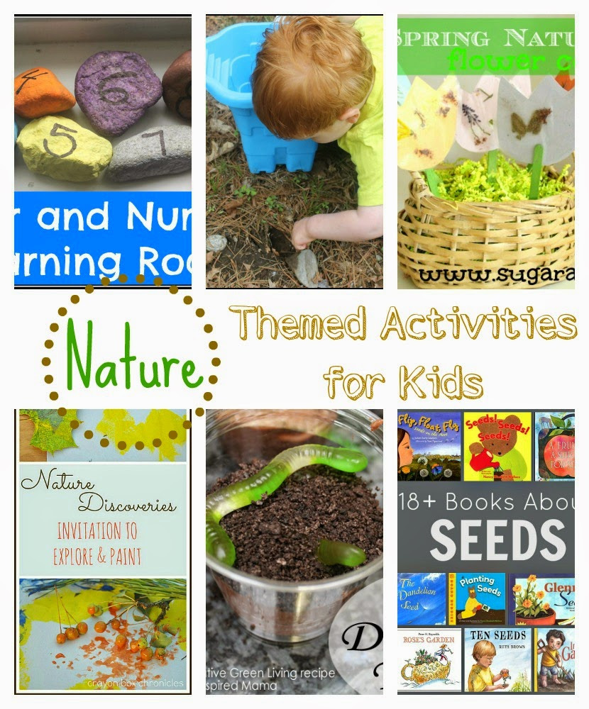 Nature Themed Activities for Kids