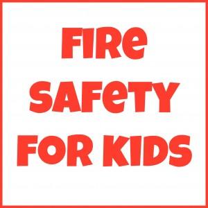 Fire Safety for Kids Blog Hop   Alldonemonkey.com