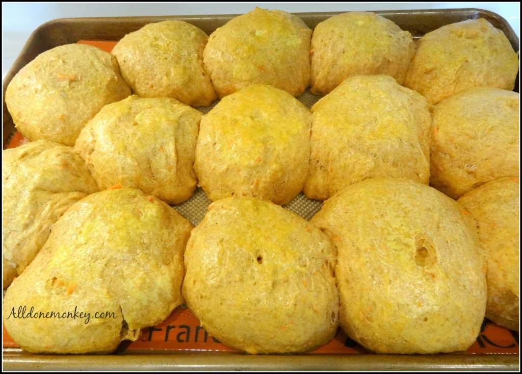Pumpkin Rolls Recipe from Vietnam {Around the World in 12 Dishes} | Alldonemonkey.com