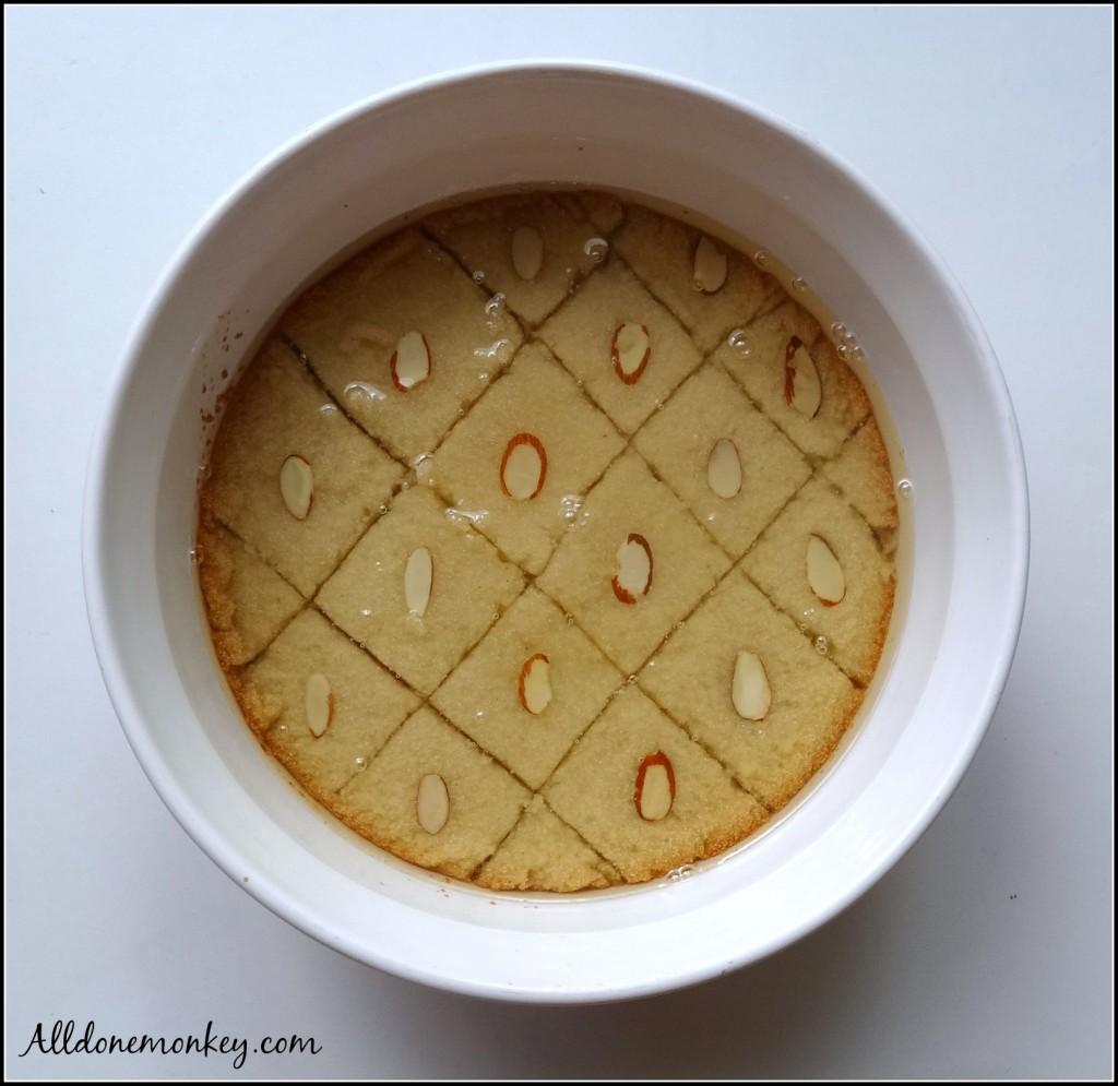 Saudi Arabian Magic Cake {Around the World in 12 Dishes} | Alldonemonkey.com