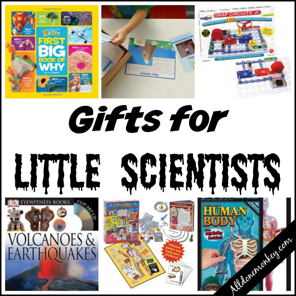 Gifts for Little Scientists | Alldonemonkey.com