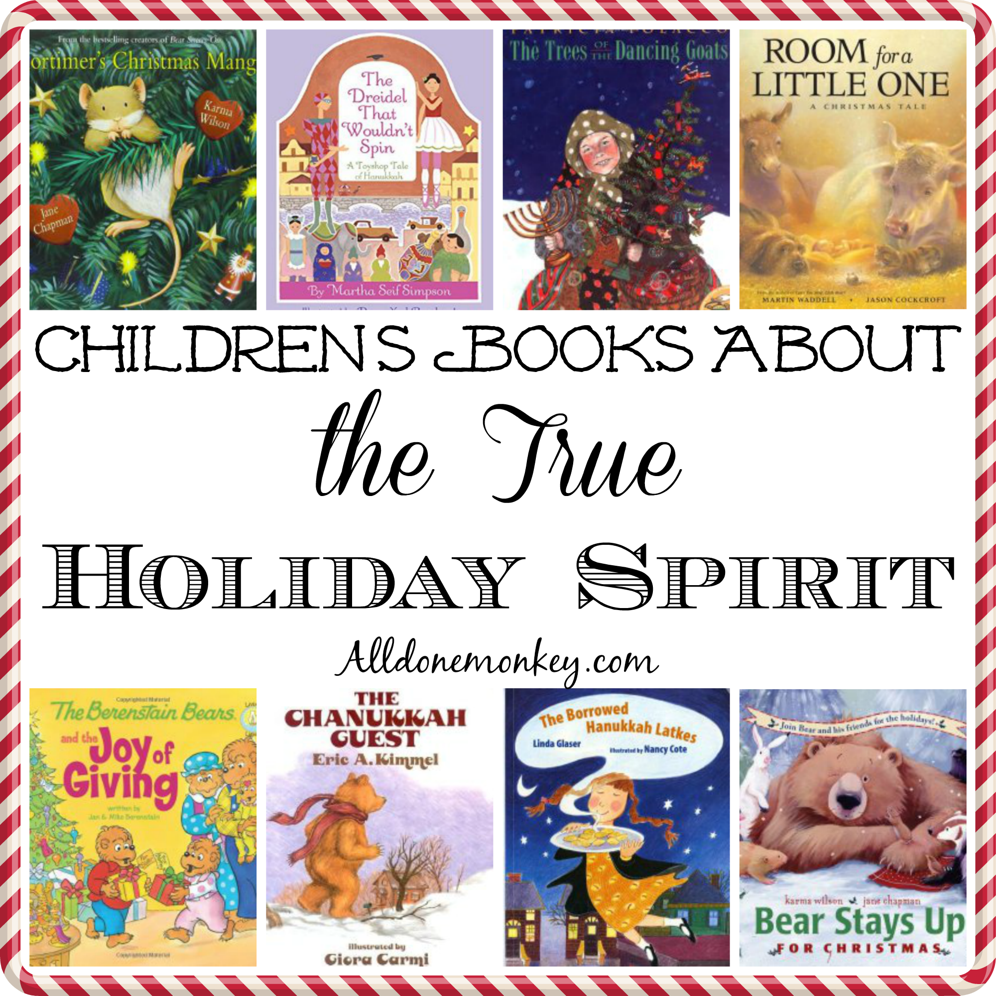 Childrens Books About The True Holiday Spirit