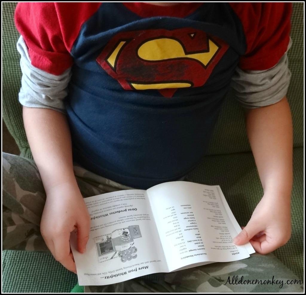 Spanish Learning Songs for Kids: Whistlefritz CD Review | Alldonemonkey.com