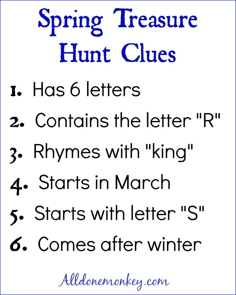 Spring Scavenger Hunt {Naw-Ruz} | Alldonemonkey.com