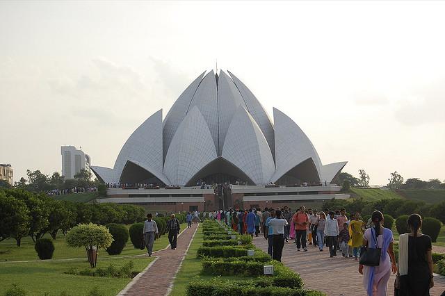 Baha'i Temple, India