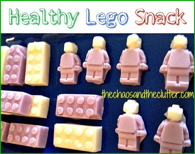 Lego Yogurt Snacks - The Chaos and the Clutter