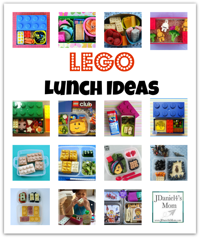 Lego Lunch Ideas - JDaniel4s Mom
