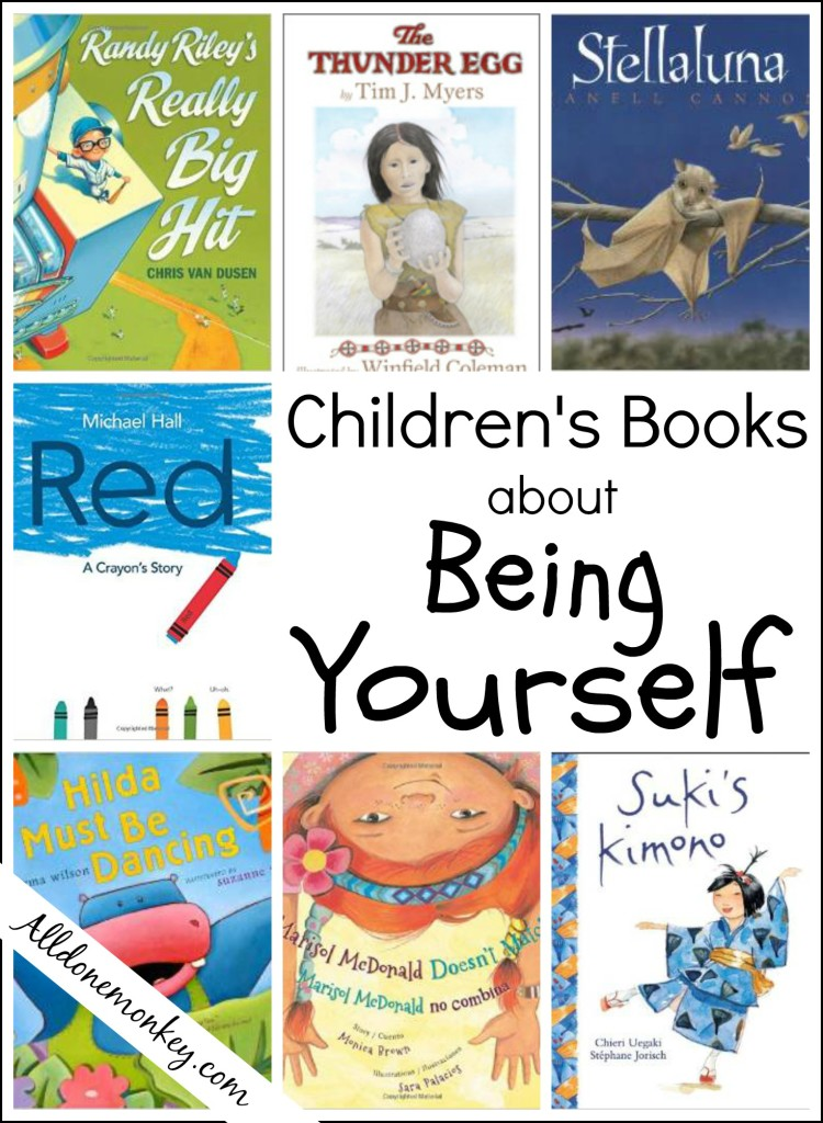 Children's Books about Being Yourself - All Done Monkey
