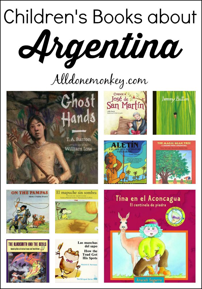 Argentina: Best Children's Books | Alldonemonkey.com