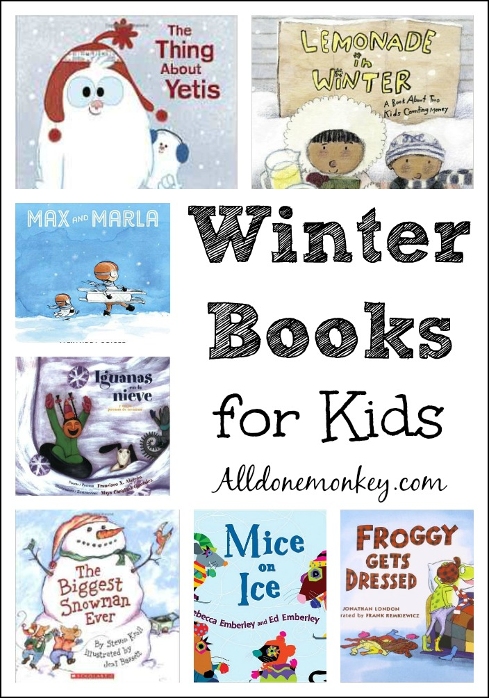 Some of our favorite winter books for kids