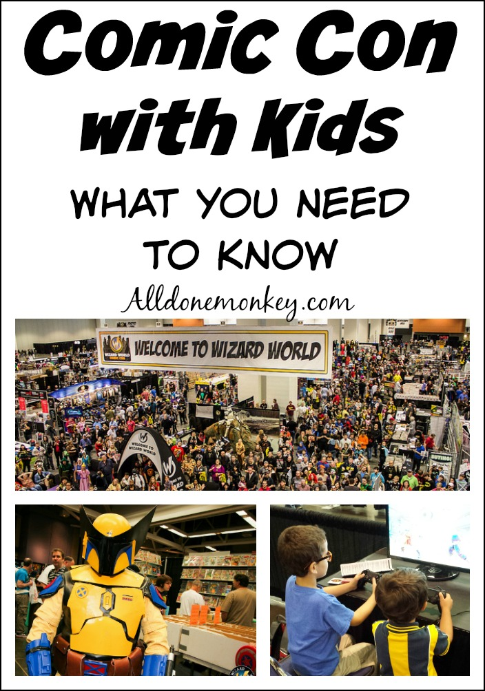 What you need to know before attending Comic Con with kids