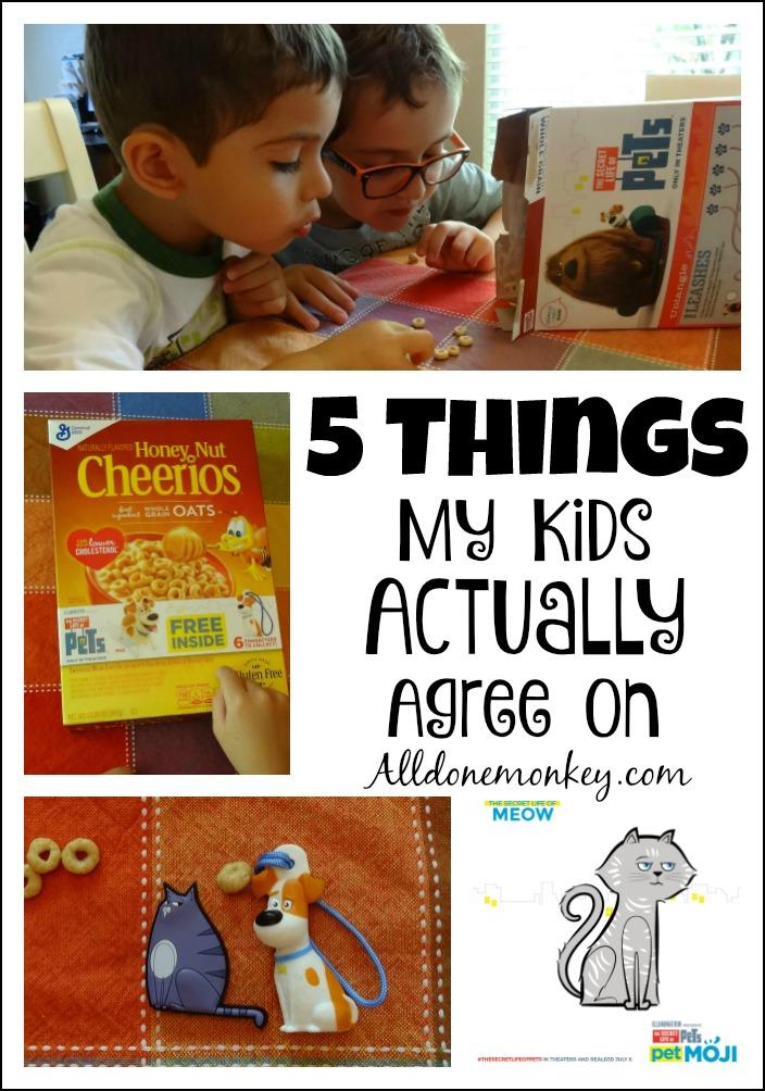 Sibling Bonding: 5 Things My Kids Actually Agree On | Alldonemonkey.com