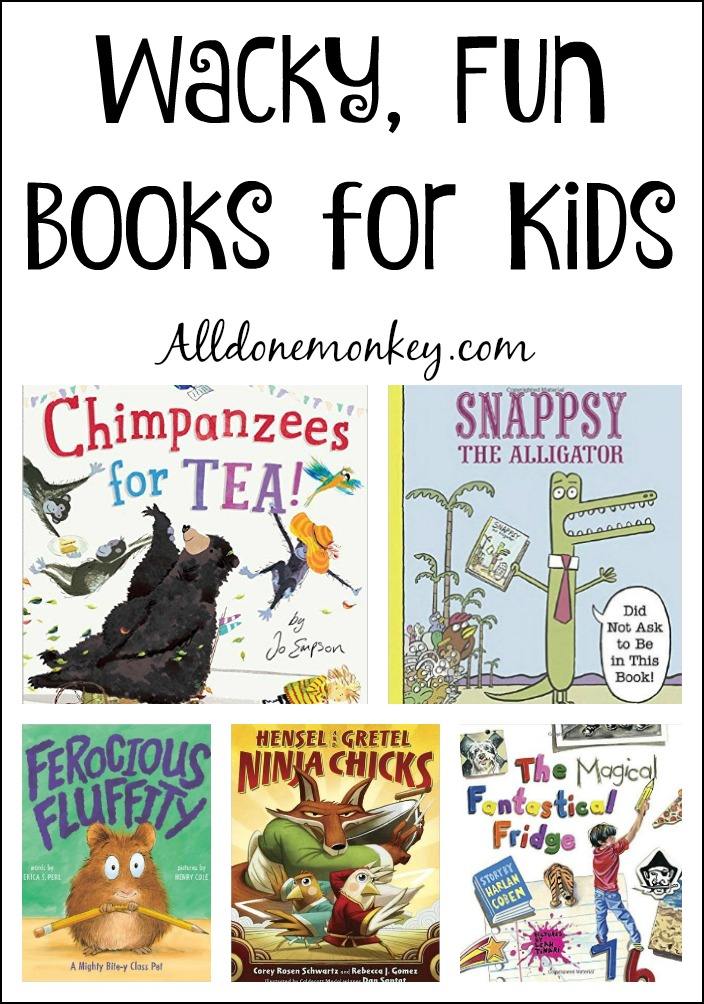 Off beat, fun books for kids that will have everyone laughing themselves silly