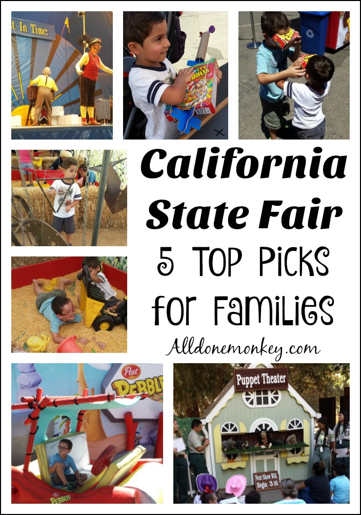 Our 5 top picks for families visiting the California State Fair