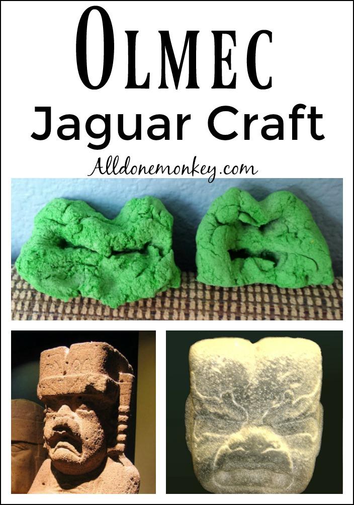 Olmec Jaguar Craft | Alldonemonkey.com