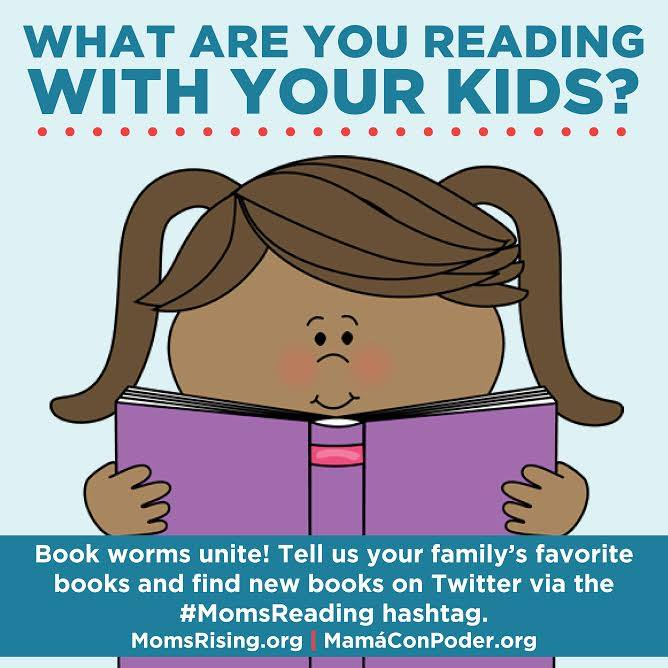 MomsReading, a campaign to encourage reading with your children