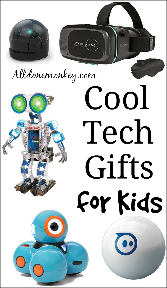 Cool Tech Gifts for Kids   Alldonemonkey.com