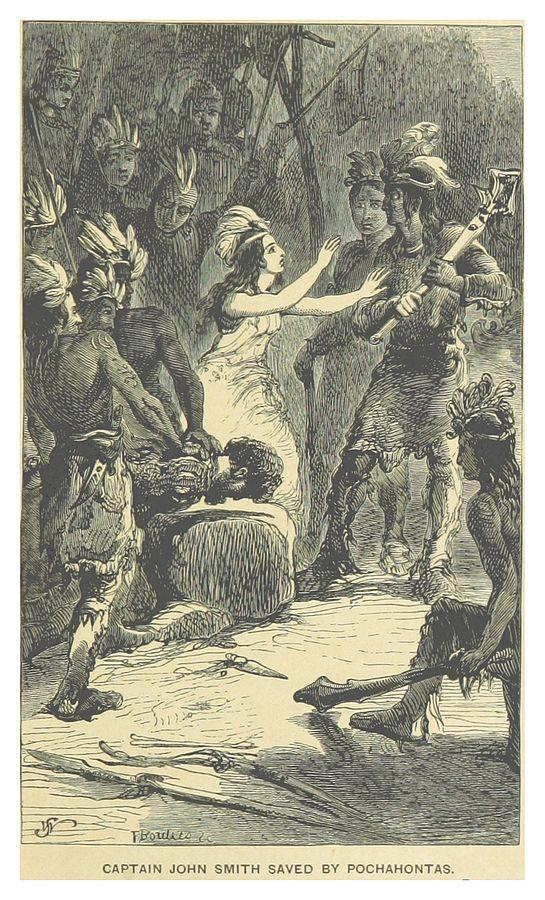 Pocahontas saves Captain Smith