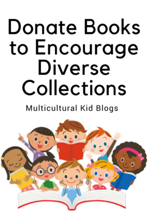 Donate Books to Encourage Diverse Collections