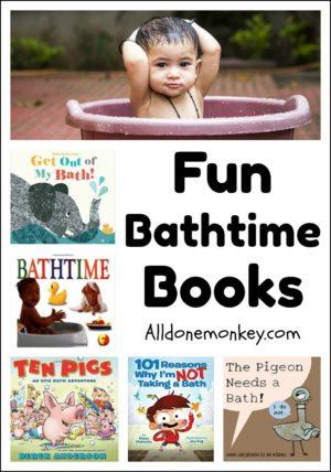 Fun Bathtime Books Your Child Will Love