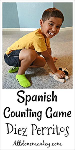 Spanish Counting Game: Diez Perritos