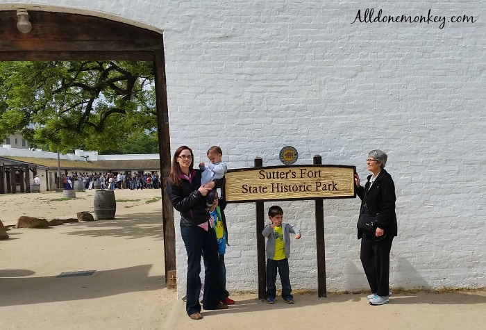 Sutter's Fort: Sacramento History for Families | Alldonemonkey.com