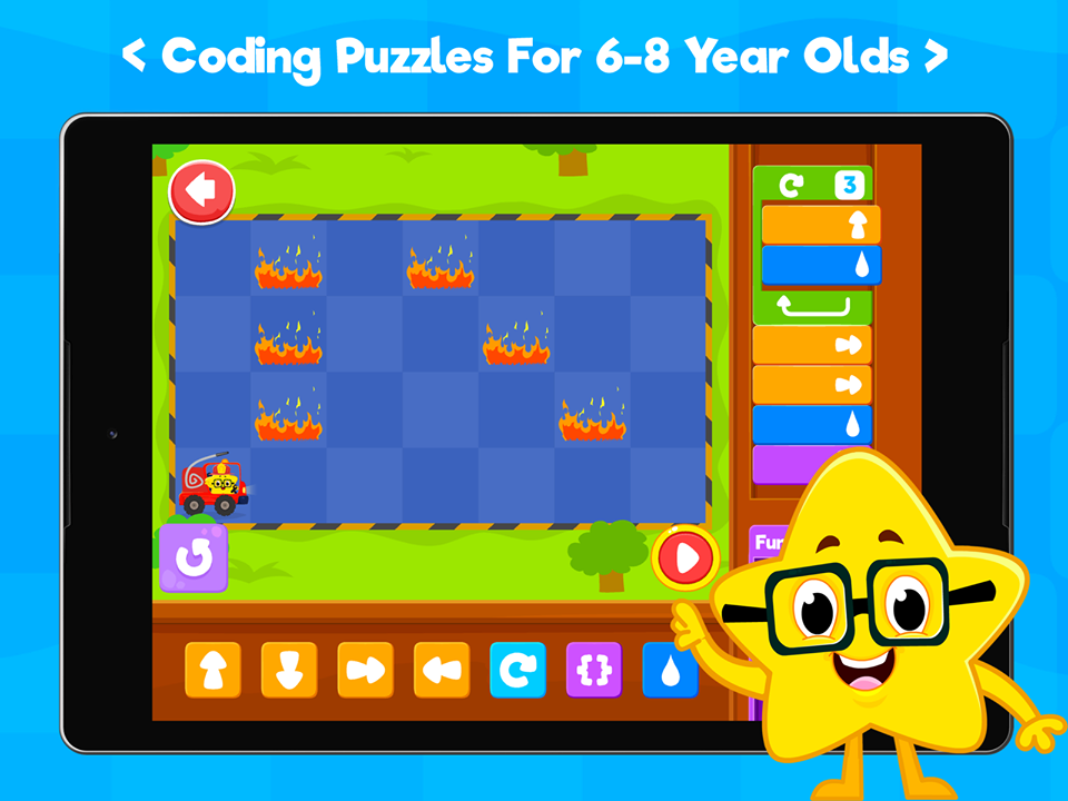Coding games app from Kidlo Land