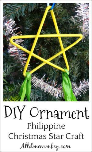 DIY Ornament: Philippine Christmas Star Craft