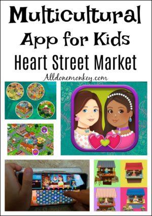 Multicultural App for Kids: Heart Street Market