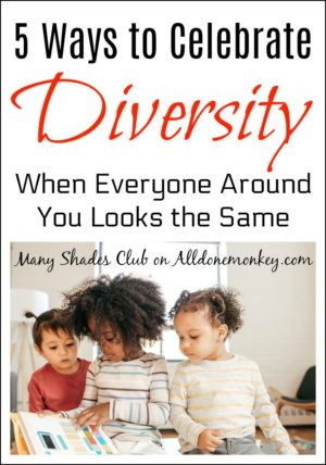 5 Ways to Celebrate Diversity When Everyone Around You Looks the Same